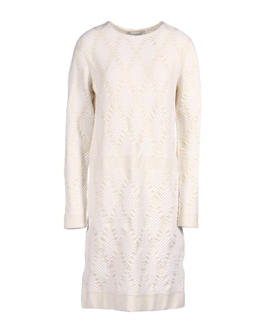 Pringle of Scotland - Natural Short Dress - Lyst