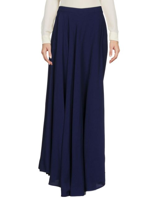 Jean Paul Gaultier - Blue Long Skirt - Lyst