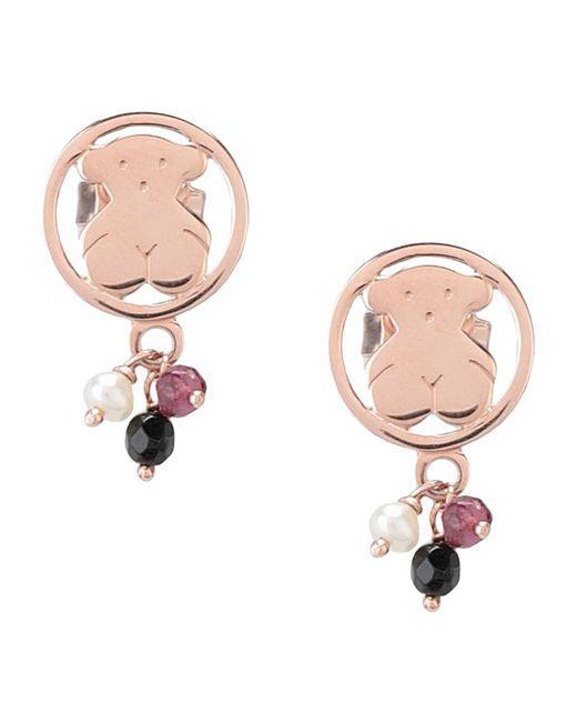 Tous - Pink Earrings - Lyst