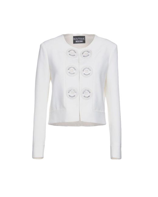 Boutique Moschino - White Blazers - Lyst