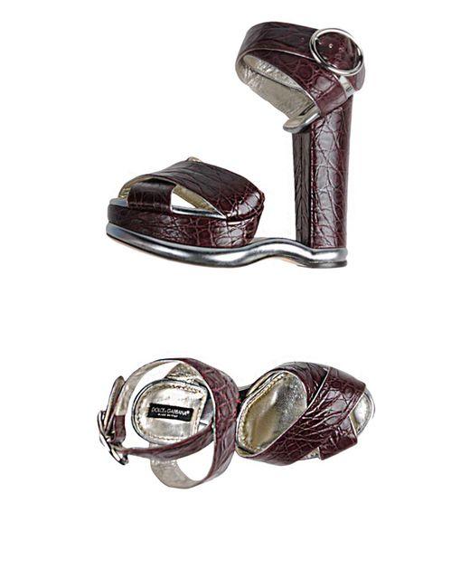 Dolce & Gabbana - Multicolor Sandals - Lyst