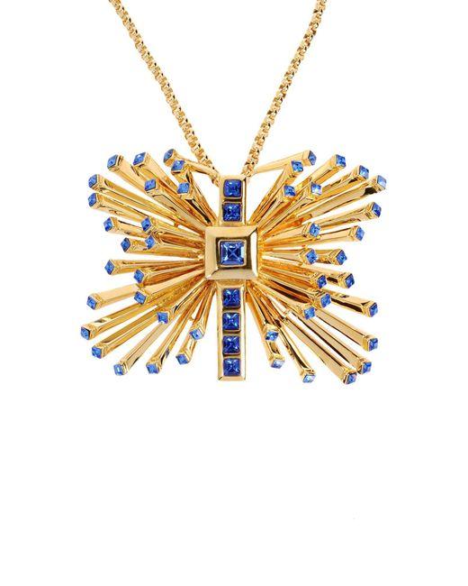 Emanuel Ungaro - Blue Necklace - Lyst