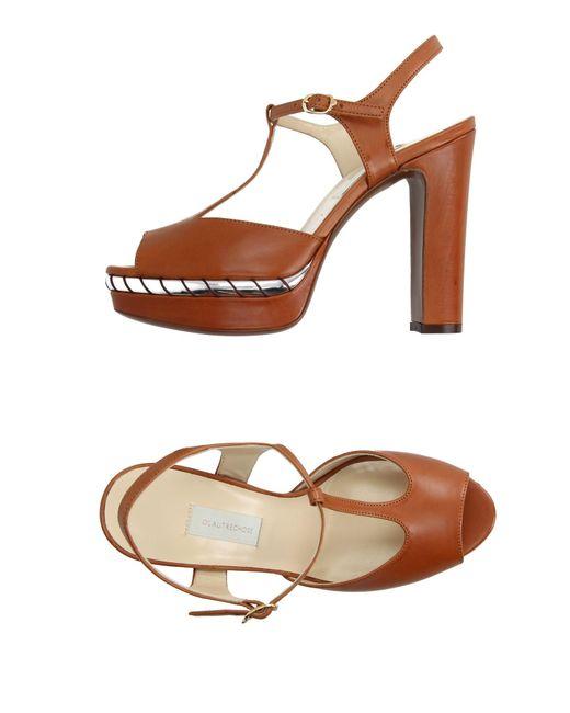 L'Autre Chose   Brown Sandals   Lyst
