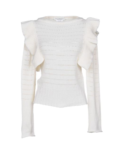 Philosophy Di Lorenzo Serafini - White Sweaters - Lyst