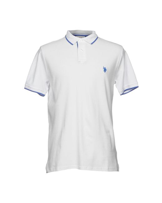U.S. POLO ASSN. - White Polo Shirt for Men - Lyst