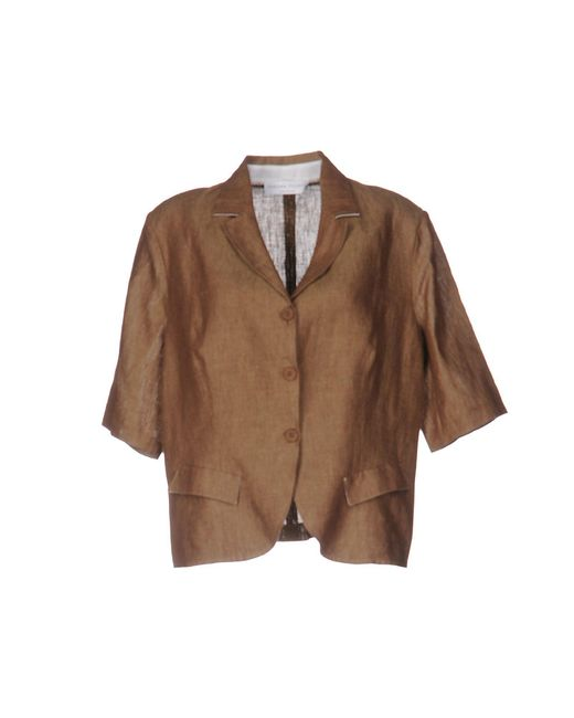 Fabiana Filippi | Brown Blazer | Lyst