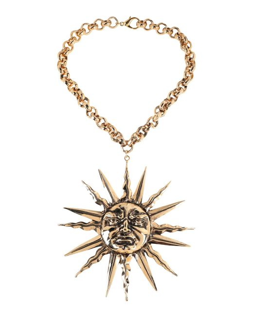 Fausto Puglisi - Metallic Necklace - Lyst