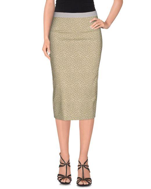 Teresa Dainelli | Green 3/4 Length Skirt | Lyst