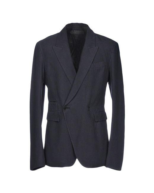 Haider Ackermann - Blue Blazer for Men - Lyst