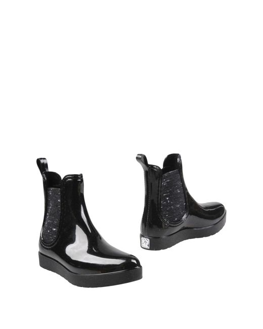 Colors Of California | Black Ankle Boots | Lyst