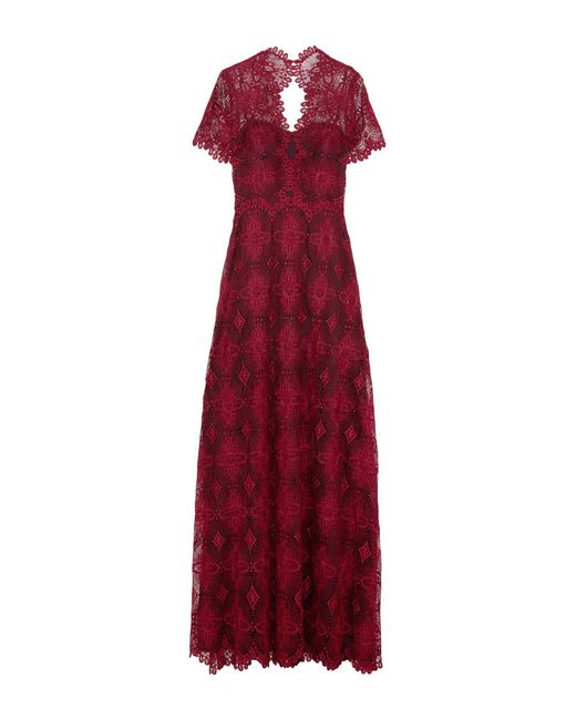 Catherine Deane - Red Long Dress - Lyst