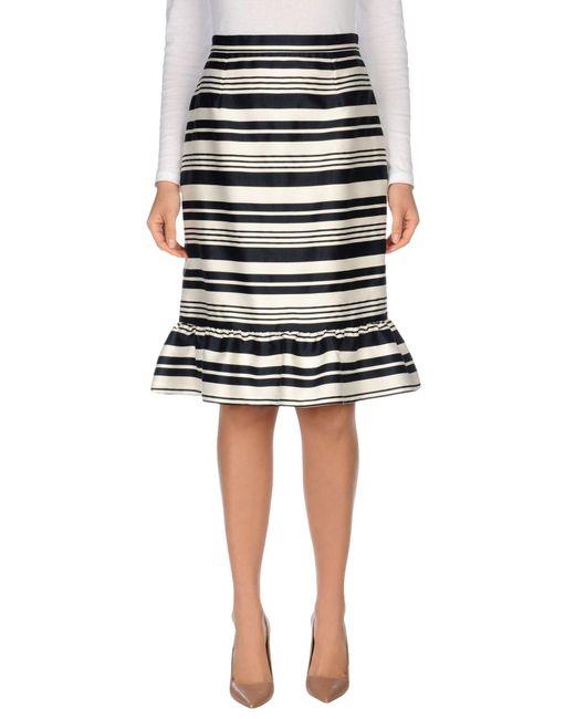 RED Valentino - White 3/4 Length Skirts - Lyst