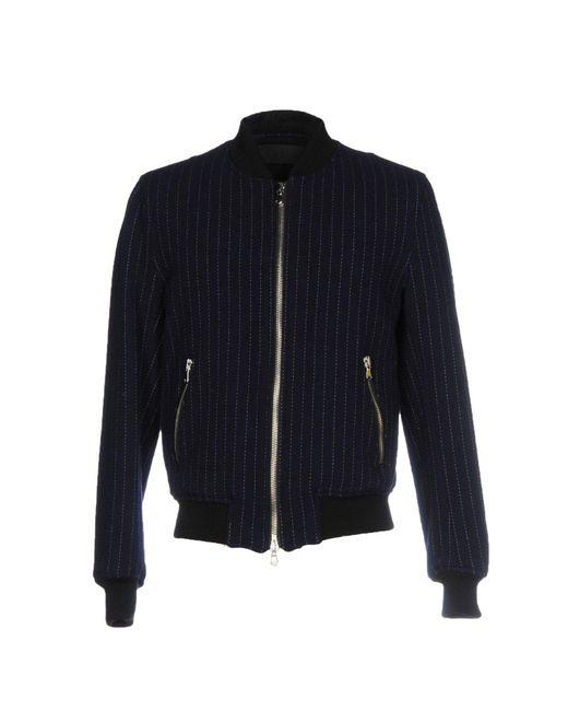 Route Des Garden - Blue Jackets for Men - Lyst