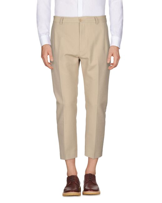 Pence - Natural Casual Trouser for Men - Lyst