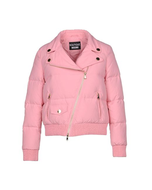Boutique Moschino - Pink Down Jackets - Lyst