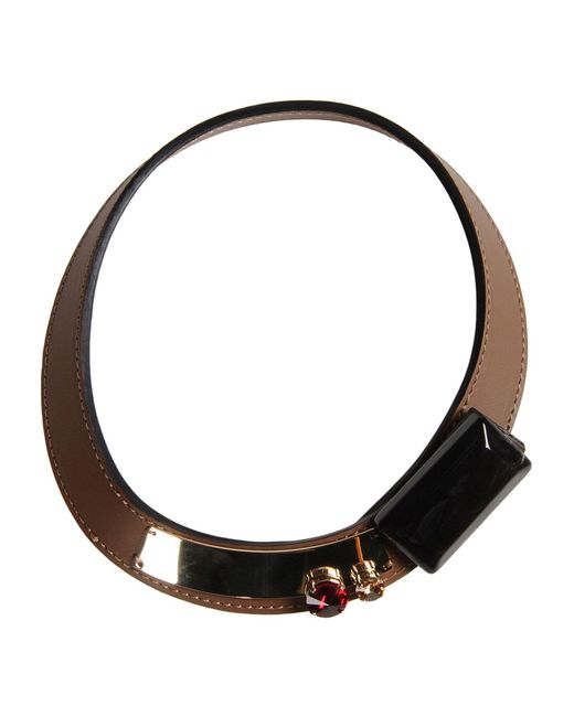 Marni - Brown Necklace - Lyst