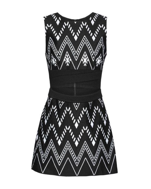 DKNY Black Short Dress