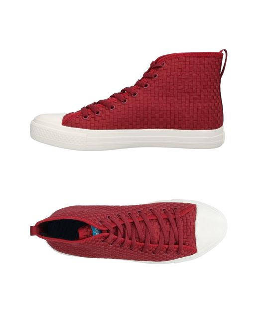People - Red High-tops & Sneakers for Men - Lyst