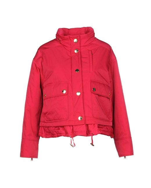 Boutique Moschino - Red Jacket - Lyst