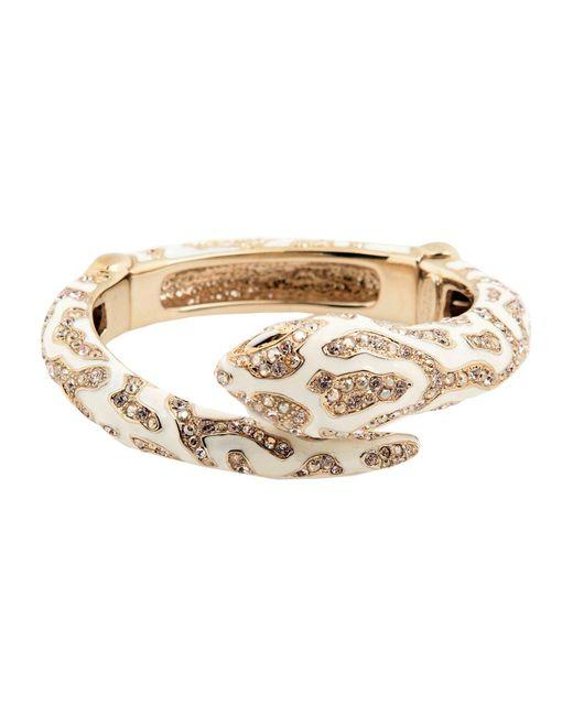 Roberto Cavalli | White Bracelet | Lyst