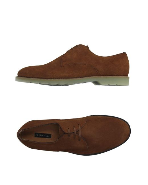 PS by Paul Smith - Brown Lace-up Shoe for Men - Lyst