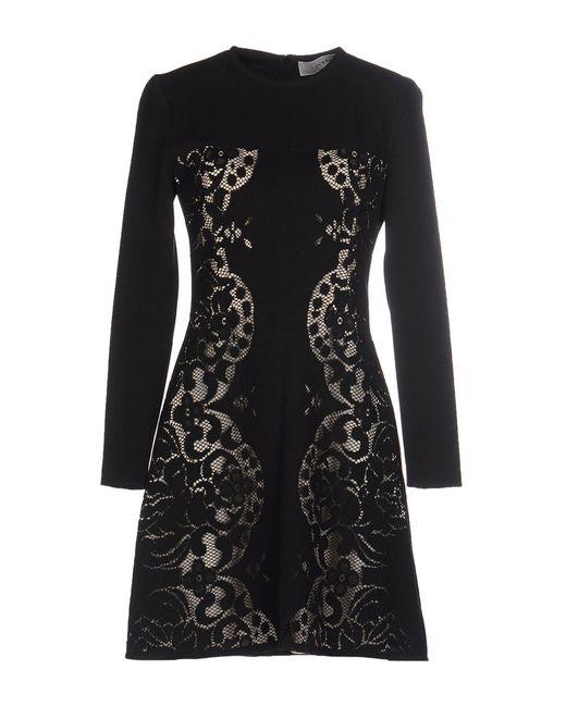 Lover | Black Short Dress | Lyst
