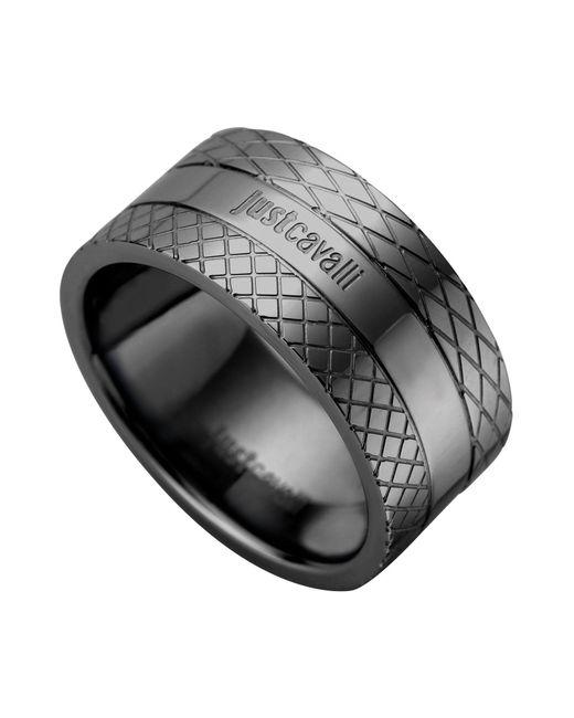 Just Cavalli - Black Ring - Lyst