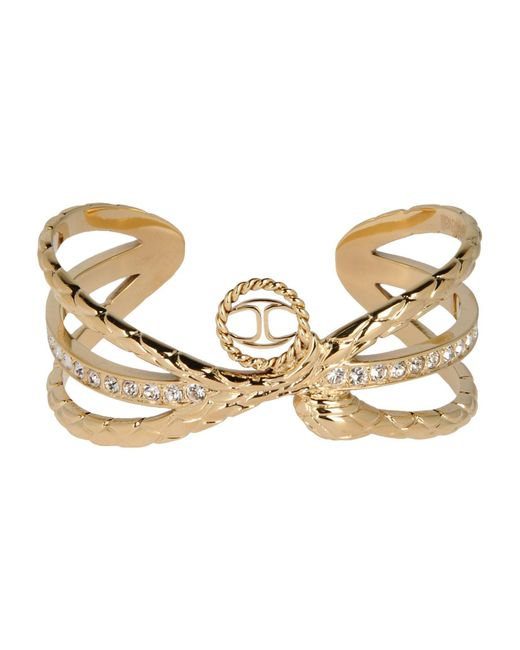 Just Cavalli - Metallic Bracelets - Lyst