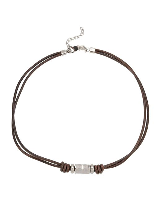 Fossil - Brown Necklace - Lyst