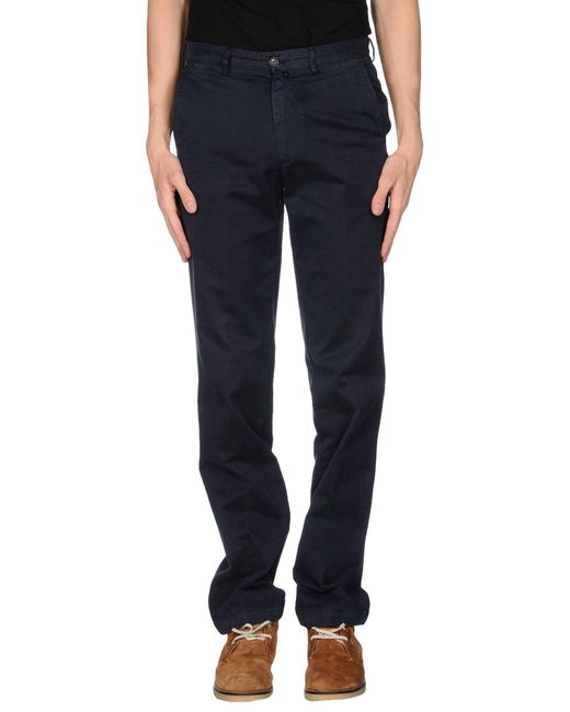 Henry Cotton's - Black Casual Pants for Men - Lyst