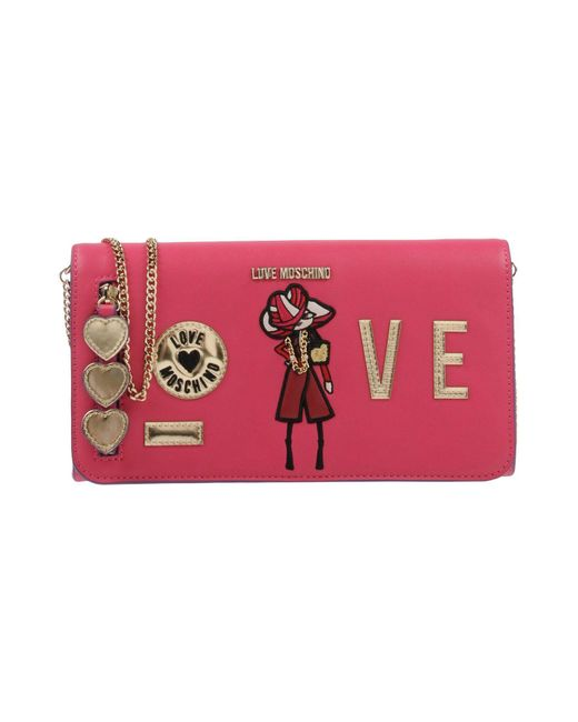 Love Moschino - Pink Cross-body Bags - Lyst