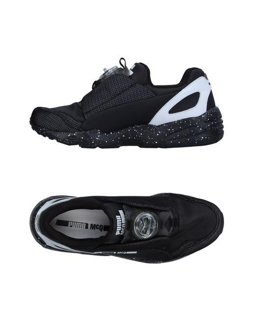 Alexander McQueen X Puma   Black Low-tops & Sneakers for Men   Lyst