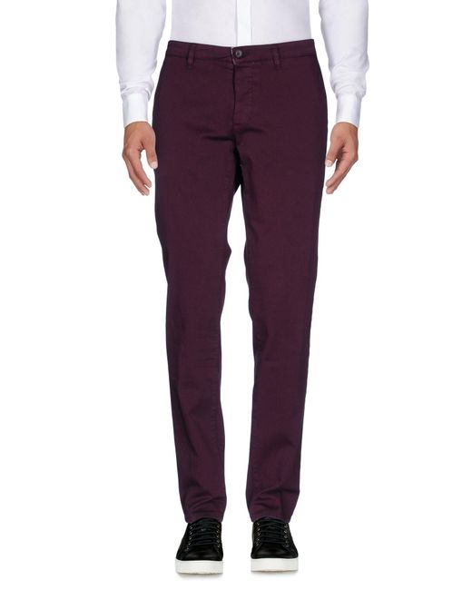 Cruna - Purple Casual Pants for Men - Lyst