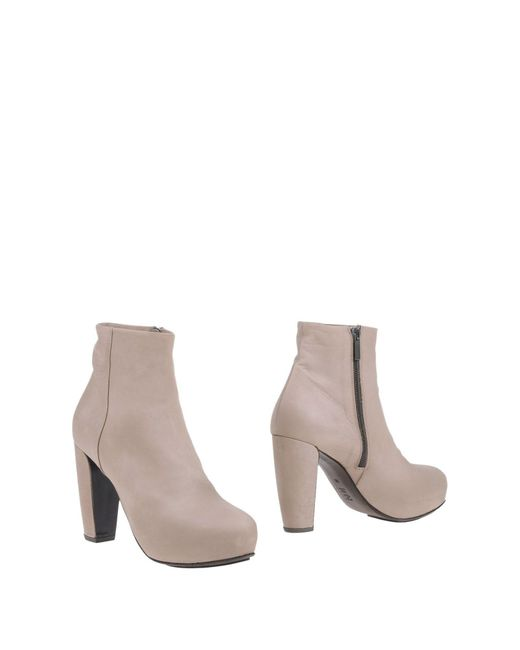 Gentry Portofino - Natural Ankle Boots - Lyst