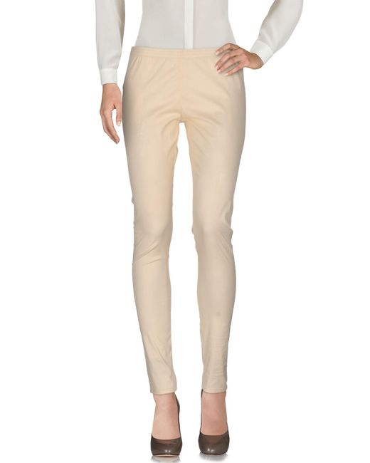Twin Set - Natural Casual Pants - Lyst