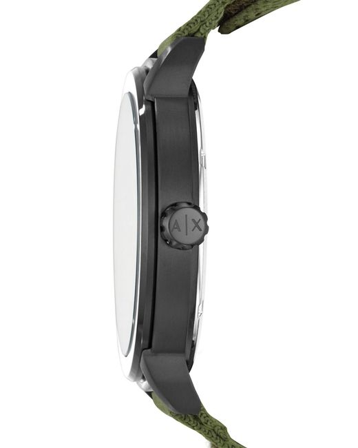 acf3e3957eb4 Lyst - Reloj de pulsera Armani Exchange de hombre de color Negro