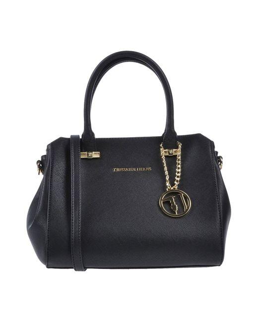 Trussardi - Black Handbag - Lyst