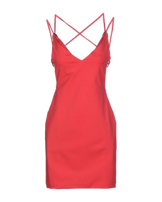 DSquared² | Red Short Dress | Lyst