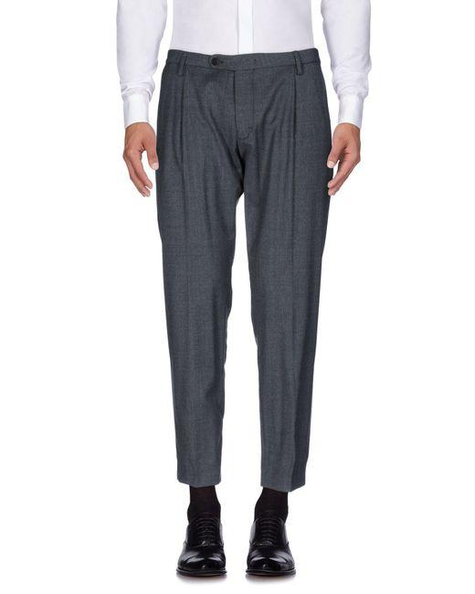 Michael Coal - Gray Casual Trouser for Men - Lyst