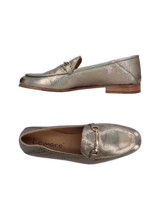 Lemarè - Metallic Loafer - Lyst