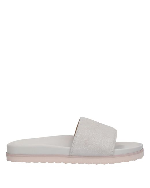 Buscemi Gray Slippers