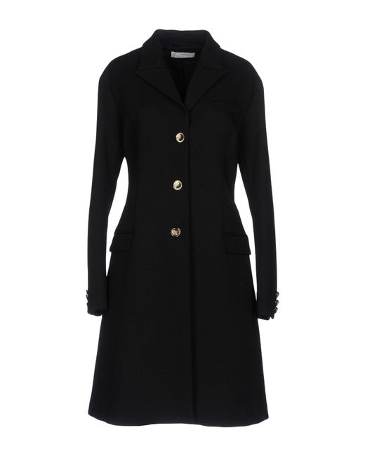 Versace - Black Coat - Lyst