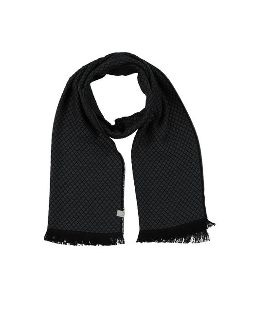 Armani Gray Oblong Scarf for men