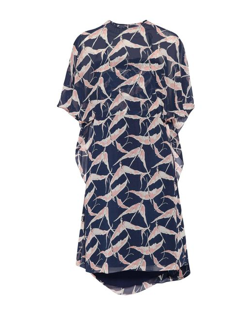 Mikael Aghal - Blue Knee-length Dresses - Lyst