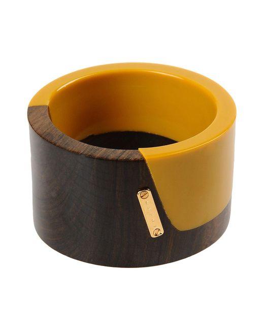 Marni - Yellow Bracelet - Lyst