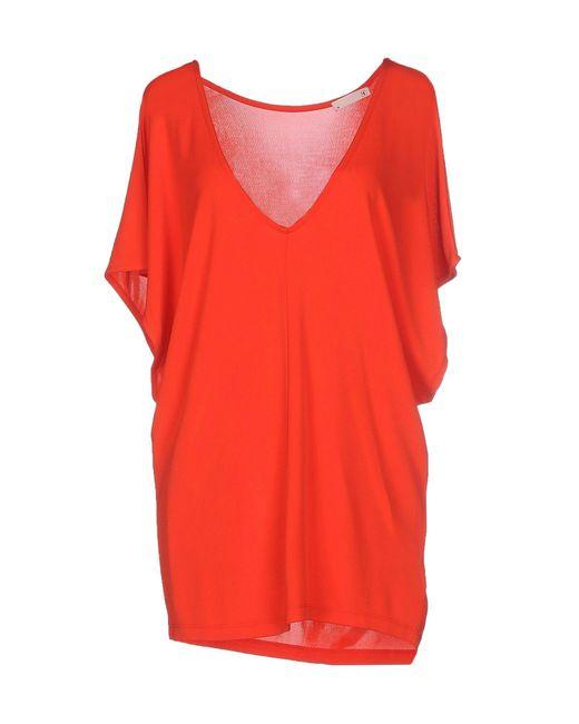 SuperTrash | Red T-shirt | Lyst
