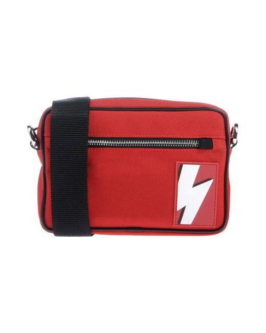 Neil Barrett - Red Cross-body Bag for Men - Lyst