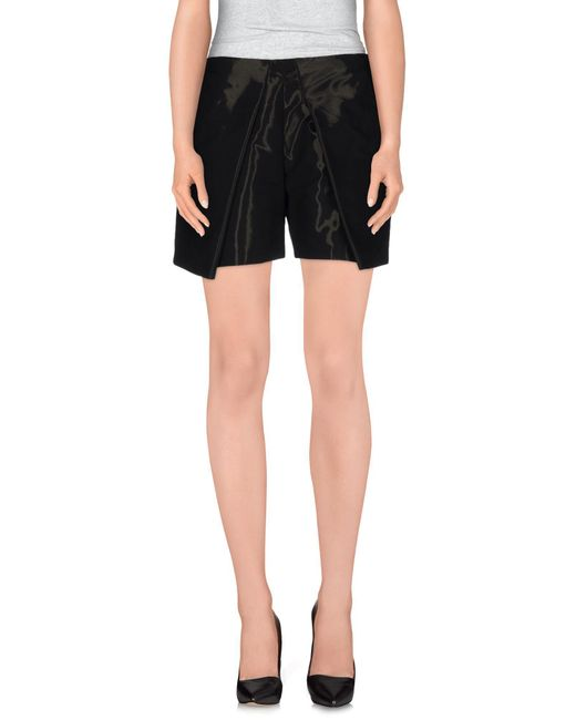 Pinko - Black Shorts - Lyst
