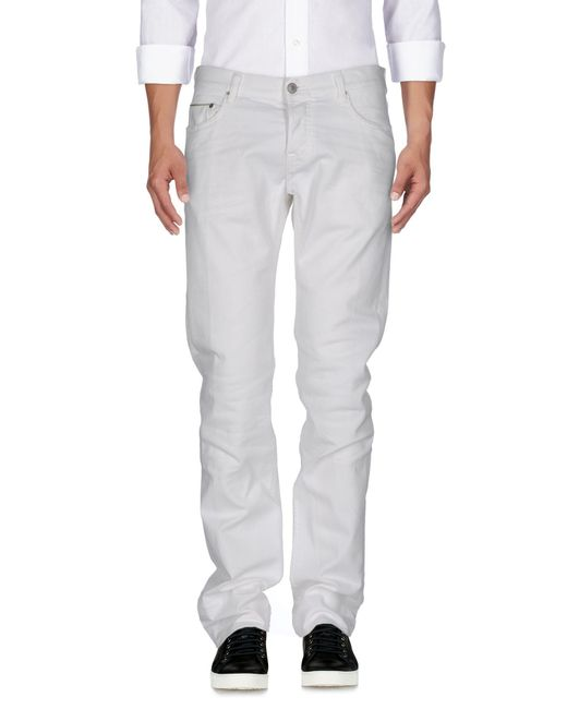 Care Label - White Denim Trousers for Men - Lyst