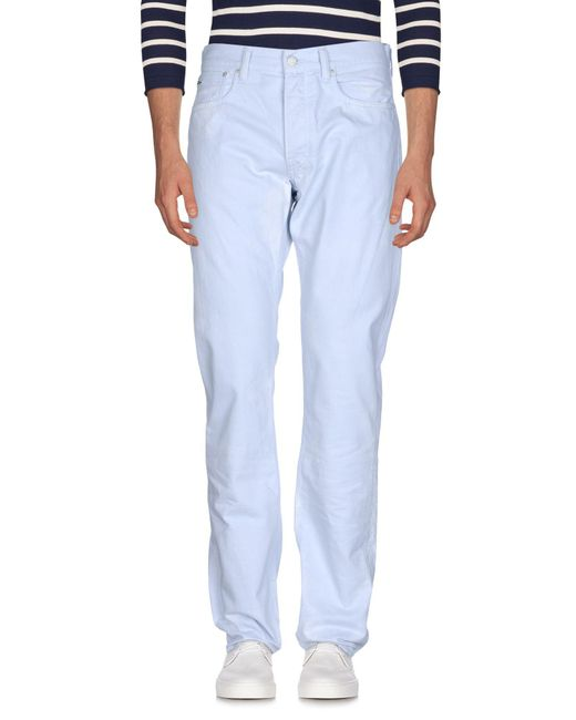 Ralph Lauren Black Label - Blue Denim Pants for Men - Lyst